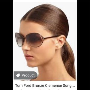 Tom Ford Clemence Brown Sunglasses